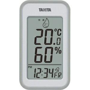 *受発注* タニタ デジタル温湿度計 グレー TT559GY 1個