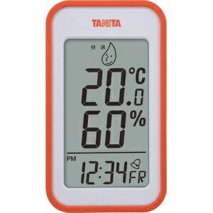 *受発注* タニタ デジタル温湿度計 オレンジ TT559OR 1個