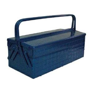 *受発注* TRUSCO 2段式ツールボックス(トレー付) ブルー 472×220×289mm GL-470-B 1個