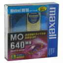【生産終了品・在庫限り】マクセル 3.5インチ MOディスク 640MB 3枚 Windowsフォーマット済み MA-M640 WIN(MIX) B3P