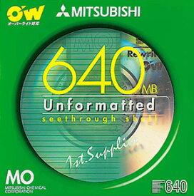 【生産中止商品】三菱化学メディアのオーバーライト型 1枚 MOKOW640U1S