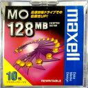 【生産終了品・在庫限り】マクセル 3.5インチ MOディスク 128MB 10枚 アンフォーマット maxell MA-M128 B10P