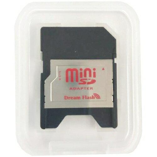 ●在庫限り(訳あり) Dream Flash miniSD 128MB SD変換アダプタ付属 プラケース入り AC DF-MSD128 【メール便OK】
