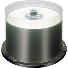 【返品交換不可】ノーブランド BD-R 録画用 地上デジタル放送対応 25GB 6倍速対応 50枚 スピンドルケース入り ホワイトワイドタイプ インクジェットプリンタ対応 BR25RP50U_R