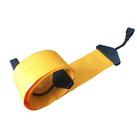 【3M|オレンジ×ブラック/橙黒/OrangexBlack】Flat Cord -フラットコード-