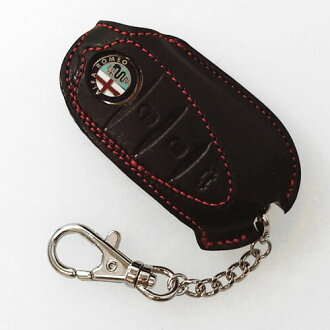 Alfa Romeo(阿尔法罗密欧)MiTo/Giulietta皮革键覆盖物(黑色)