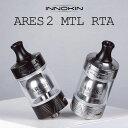 INNOKIN ARES 2 MTL RTA イノキン アレス2 ARES2 vape アトマイザー 22mm 24mm RBA MTL 味重視 アレス タンク rta シ…