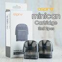 カートリッジ for Aspire Minican POD 2個パック アスパイア ミニカン vape pod型 ポッド カートリッジ 交換用 メッシュ