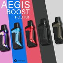 GeekVape Aegis Boost Pod Kit ギークべイプ イージス ブースト ポッド pod 電子タバコ vape pod型 キット RDTA RBA …