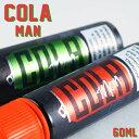 Cola man 60ml 電子タバコ vape リキッド コーラ ライム コーラマン アメリカ製 MADE IN USA Cola man 60ml