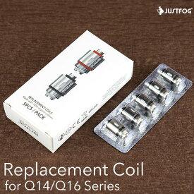 電子タバコ vape ジャストフォグ Q14 Q16 交換用 コイル 純正アフターパーツ クリアロマイザー Justfog 社製 Q14 Q16 純正交換用コイル