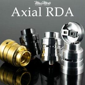 Mass Mods Axial RDA マスモッド マスモッズ アクシアル アクシャル 電子タバコ vape アトマイザー RDA ドリッパー シングル デュアル 直径23mm 25mm BF スコンカー 対応