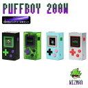 vape mod ゲーム WIZMAN PUFFBOY MOD ウィズマン パフボーイ バッテリーセット 電子タバコ vape テクニカル box mod …