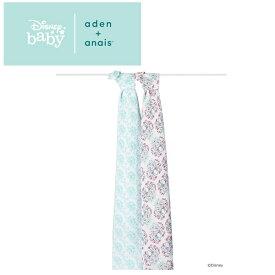 エイデンアンドアネイ aden+anais ディズニーコレクション [bambi] 2枚セット おくるみ swaddle スワドル アフガン 出産祝い [日本正規品]