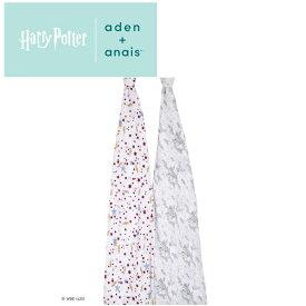 エイデンアンドアネイ aden+anais ハリーポッターコレクション [harry potter] 2枚セット おくるみ swaddle スワドル アフガン 出産祝い [日本正規品]