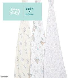 エイデンアンドアネイ aden+anais ディズニーコレクション [my darling dumbo] 3枚セット おくるみ swaddle スワドル アフガン 出産祝い [日本正規品] ダンボ