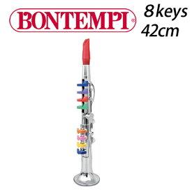 正規品 BONTEMPI(ボンテンピ) [シルバークラリネット 8keys 42cm] おもちゃ クラリネット 楽器 bontempi