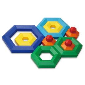 正規品 ボーネルンド [ヘキサカス] おもちゃ 知育玩具 2歳 ブロック