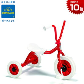 正規品 ボーネルンド [ペリカンデザイン三輪車 Vハンドル 赤] [プレゼント付き] おしゃれ Winther ウインザー