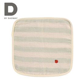 正規品 [メール便対応] D BY DADWAY(ディーバイダッドウェイ) ふんわり6重ガーゼハンカチ [てんとう] はんかち ガーゼ ハンカチ ベビー