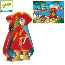 正規品 DJECO(ジェコ) シルエットパズル [パイレーツ&トレジャー] 36ピース ジグソーパズル パズル 幼児