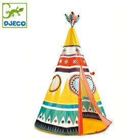 正規品 DJECO(ジェコ) [ティーピーテント] おもちゃ 子供テント キッズテント 子供用テント