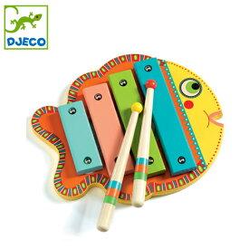 正規品 DJECO(ジェコ) [アニマンボシリーズ シロフォン] 楽器 おもちゃ 木琴