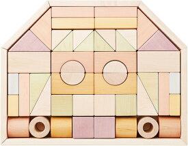 正規品 Ed.Inter(エドインター) NIHONシリーズ [つみきのいえ L] 積み木 つみき 木製玩具 木のおもちゃ