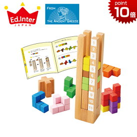 正規品 エド・インター 知の贈り物 [育脳タワー] エドインター 知育玩具