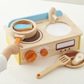 正規品 エド・インター [ジュージューくるりん!キッチン] おままごと 木製玩具 知育玩具/