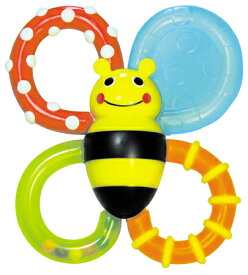正規品 [日本正規品]Sassy(サッシー) カミカミみつばち バンブル・バイツ おもちゃ ラトル 玩具