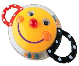 正規品 [日本正規品]Sassy(サッシー) にこにこミラーラトル (スマイリー・フェイス・ラトル・ファン) おもちゃ ラトル 玩具 スマイリーフェイス