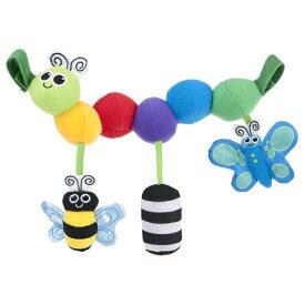 正規品 [日本正規品] Sassy(サッシー)キャタピラー・キャリーズ おもちゃ ラトル 玩具