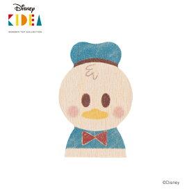Disney KIDEA(キディア) [ドナルドダック] 積み木 つみき 木のおもちゃ 木製玩具 1歳 誕生日プレゼント