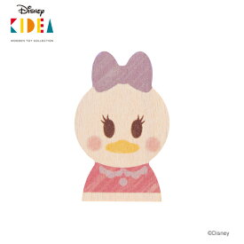 Disney KIDEA(キディア) [デイジーダック] 積み木 つみき 木のおもちゃ 木製玩具 1歳 誕生日プレゼント