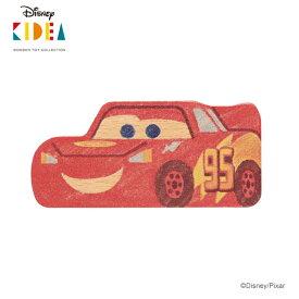 Disney KIDEA(キディア) [ライトニング・マックィーン] 積み木 つみき 木のおもちゃ 木製玩具 1歳 誕生日プレゼント