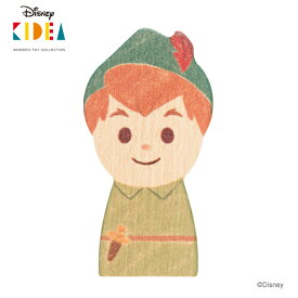 Disney KIDEA(キディア) [ピーター・パン] 積み木 つみき 木のおもちゃ 木製玩具 1歳 誕生日プレゼント