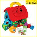 K's Kids シェイプ・ソーティングハウス 絵合わせ 型はめ 知育玩具 ケーズキッズ