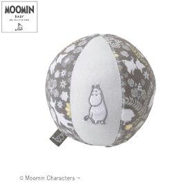正規品 MOOMIN BABY(ムーミンベビー) [ベビーボール ムーミンフラワー グレー] おもちゃ 赤ちゃん ベビー