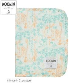 MOOMIN BABY(ムーミンベビー) [母子手帳ケース ファミリーガーデン ライトブルー]