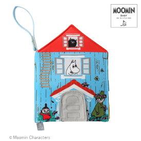 MOOMIN BABY(ムーミンベビー) [布えほん ムーミンハウス] おもちゃ ラトル ベビーカートイ 布絵本
