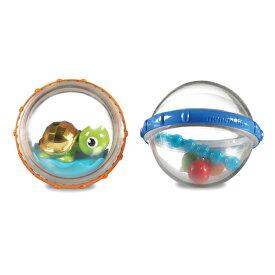 正規品 munchkin(マンチキン) [フロート・バブル 2個セット タートル](アソート) 水遊び お風呂遊び お風呂 おもちゃ