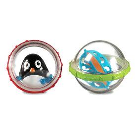 正規品 munchkin(マンチキン) [フロート・バブル 2個セット ペンギン](アソート) 水遊び お風呂遊び お風呂 おもちゃ