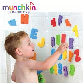 正規品 munchkin(マンチキン) [ラーニング・バスレター] 水遊び お風呂遊び お風呂 おもちゃ バスステッカー