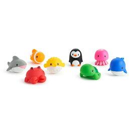 正規品 munchkin(マンチキン) [水でっぽう8コセット オーシャン] 水遊び お風呂遊び お風呂 おもちゃ