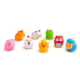 正規品 munchkin(マンチキン) [水でっぽう8コセット ファーム] 水遊び お風呂遊び お風呂 おもちゃ