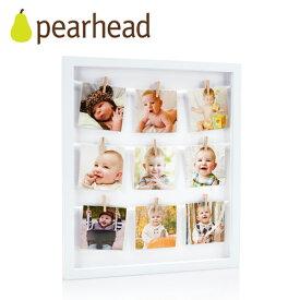正規品 pearhead(ペアヘッド) [クローズピン・コラージュフレーム] フォトフレーム 写真立て フォトフレーム ベビー 写真立て ベビー