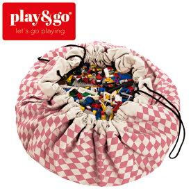正規品 play&go(プレイアンドゴー) [2in1ストレージバッグ&プレイマット ダイヤモンドピンク] ベビーマット