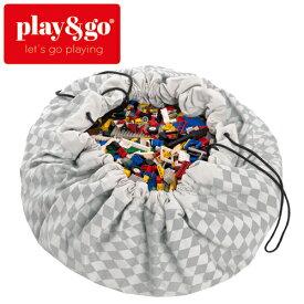 正規品 play&go(プレイアンドゴー) [2in1ストレージバッグ&プレイマット ダイヤモンドグレイ] ベビーマット