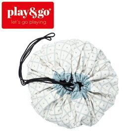 正規品 play&go(プレイアンドゴー) [2in1ストレージバッグ&プレイマット ジオ グリーン] ベビーマット おもちゃ 収納